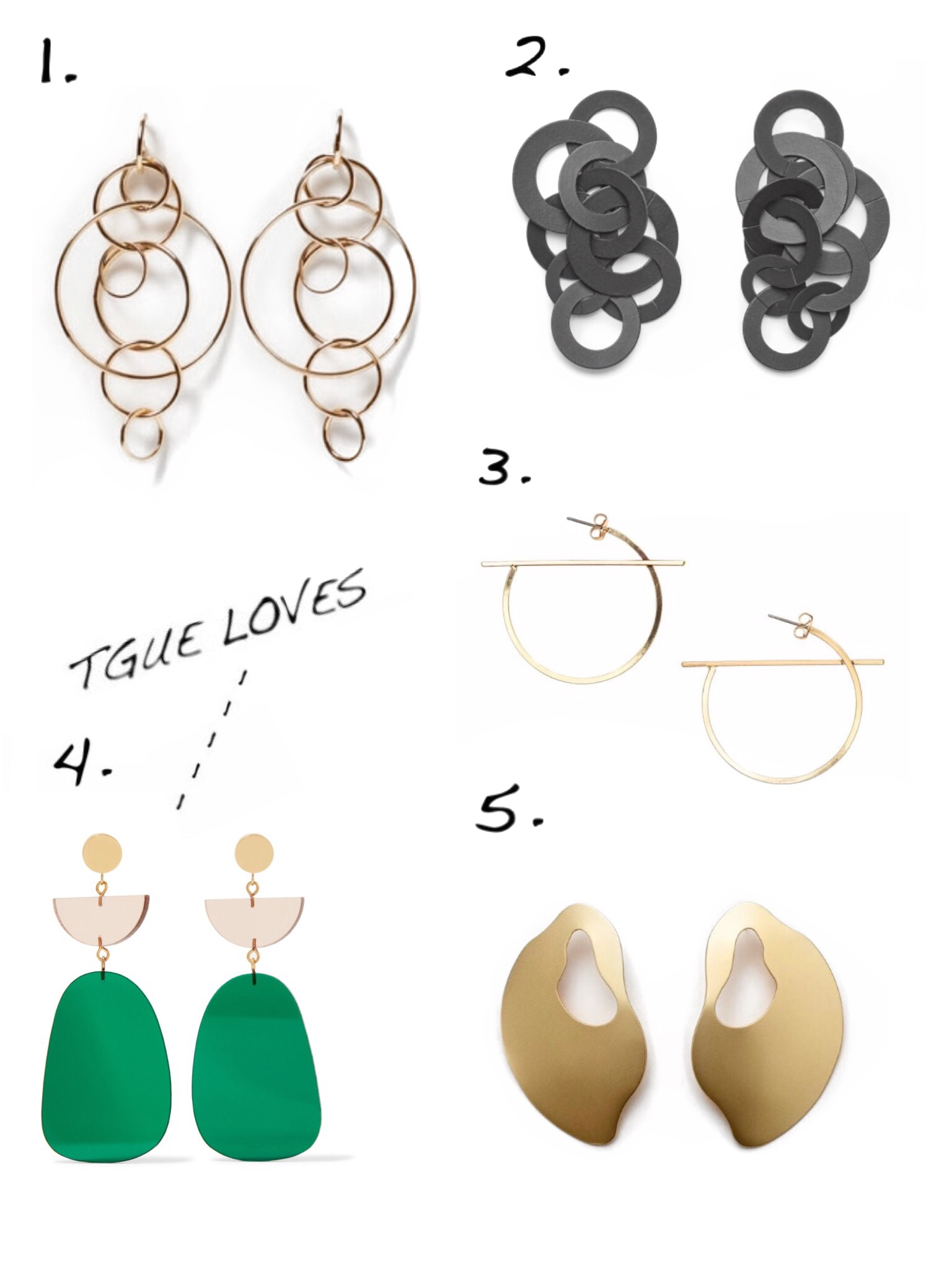 THE GROWN UP EDIT - Statement Earrings