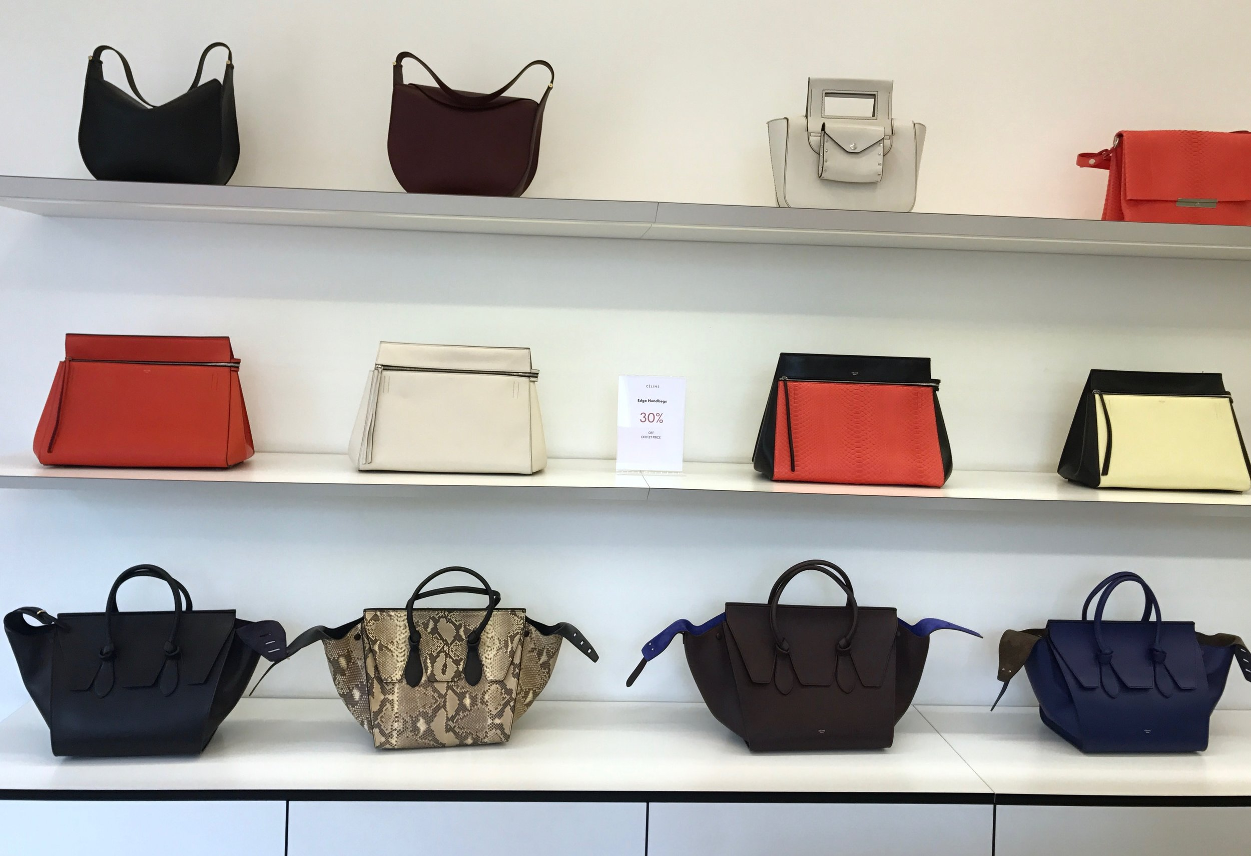 THE GROWN UP EDIT - Bicester Village Celine