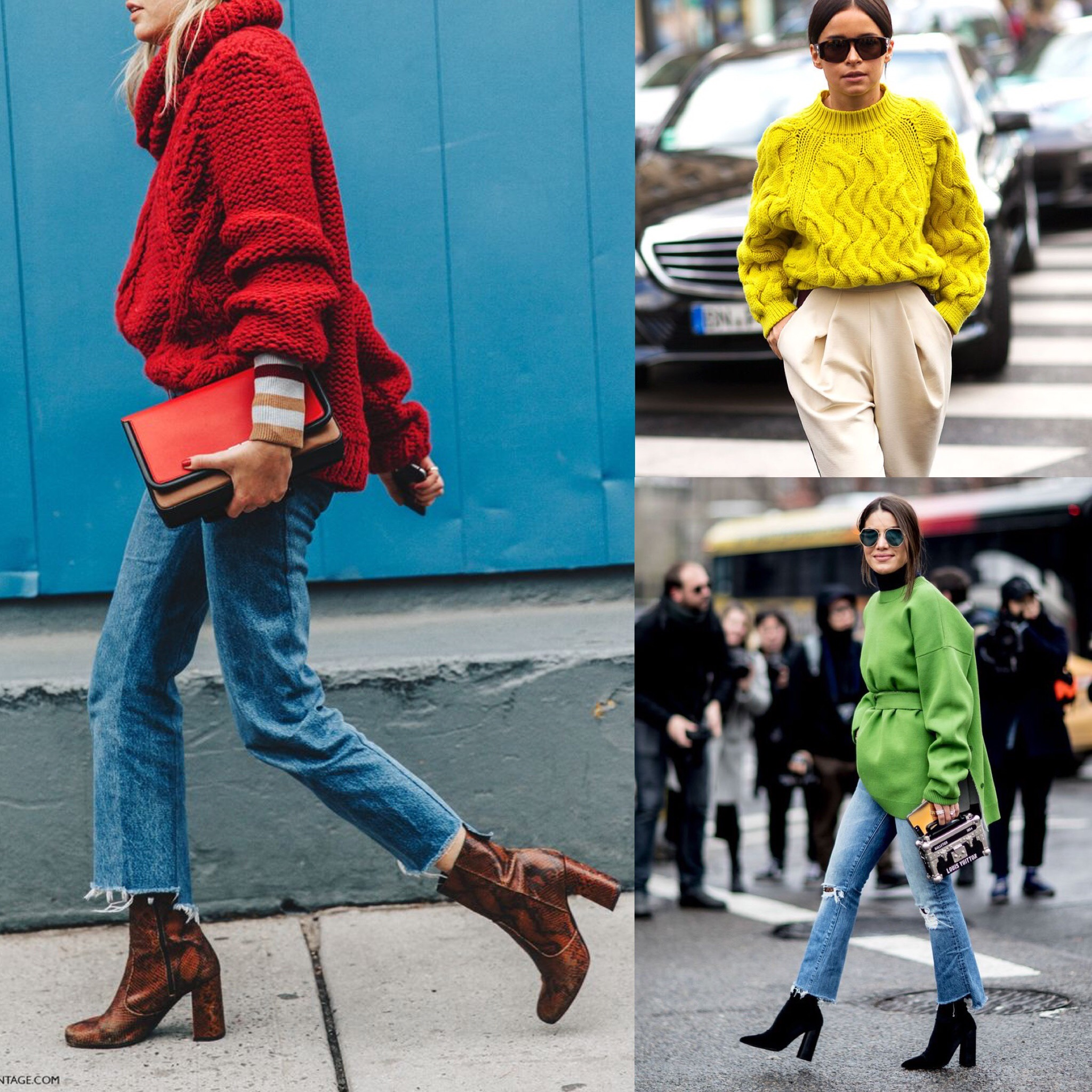 THE GROWN UP EDIT - Colour Sweaters