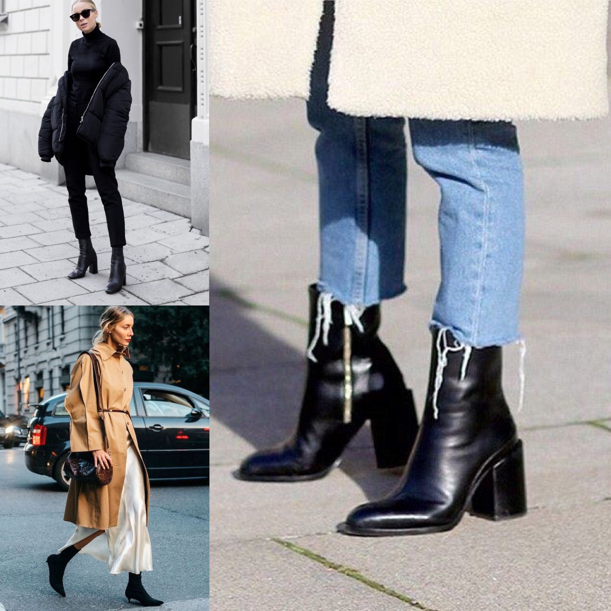THE GROWN UP EDIT - Sock Boots