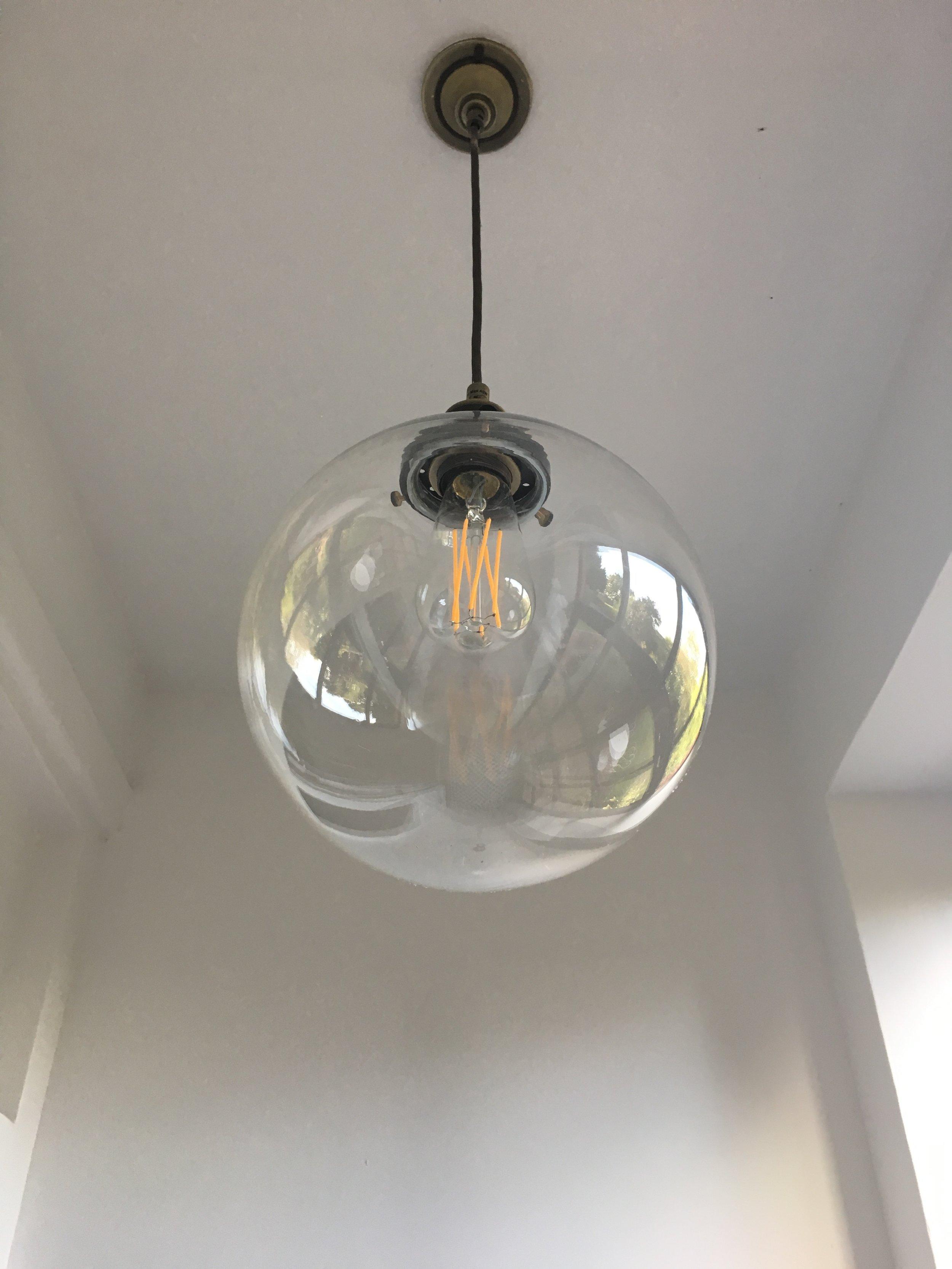 Olsen Glass Globe Pendant
