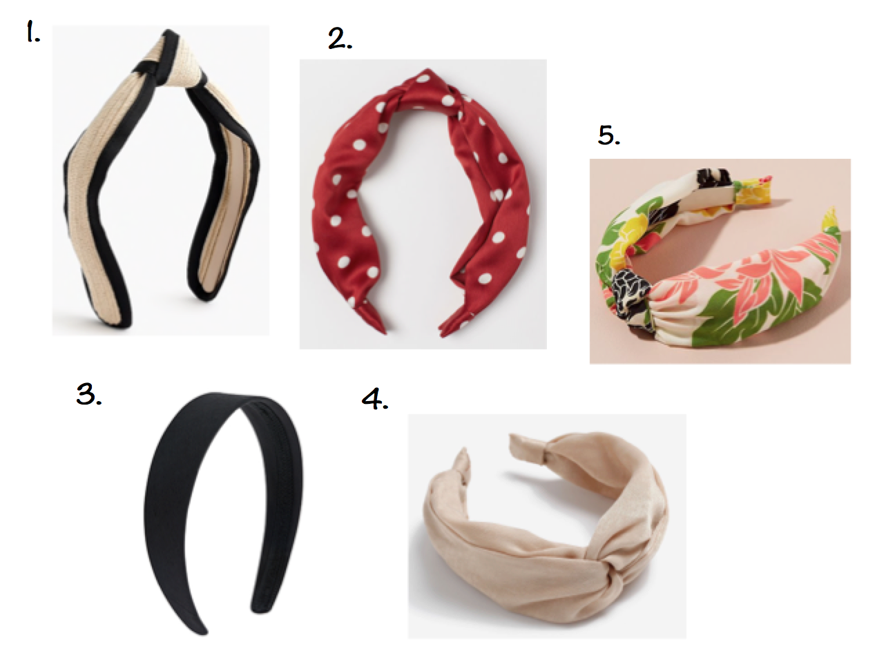 Hair accessories for summer - The Grown Up Edit   .png