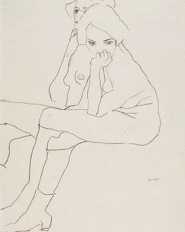 Egon Schiele 1911⠀