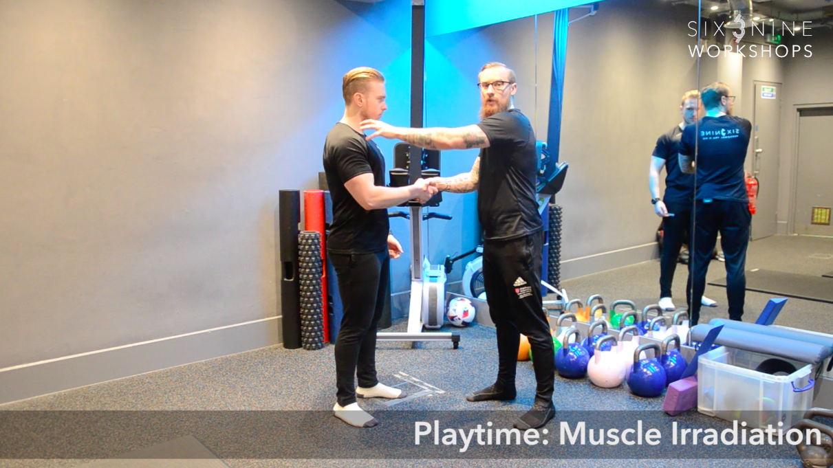 Footage from our Strength Training Class online tutorials