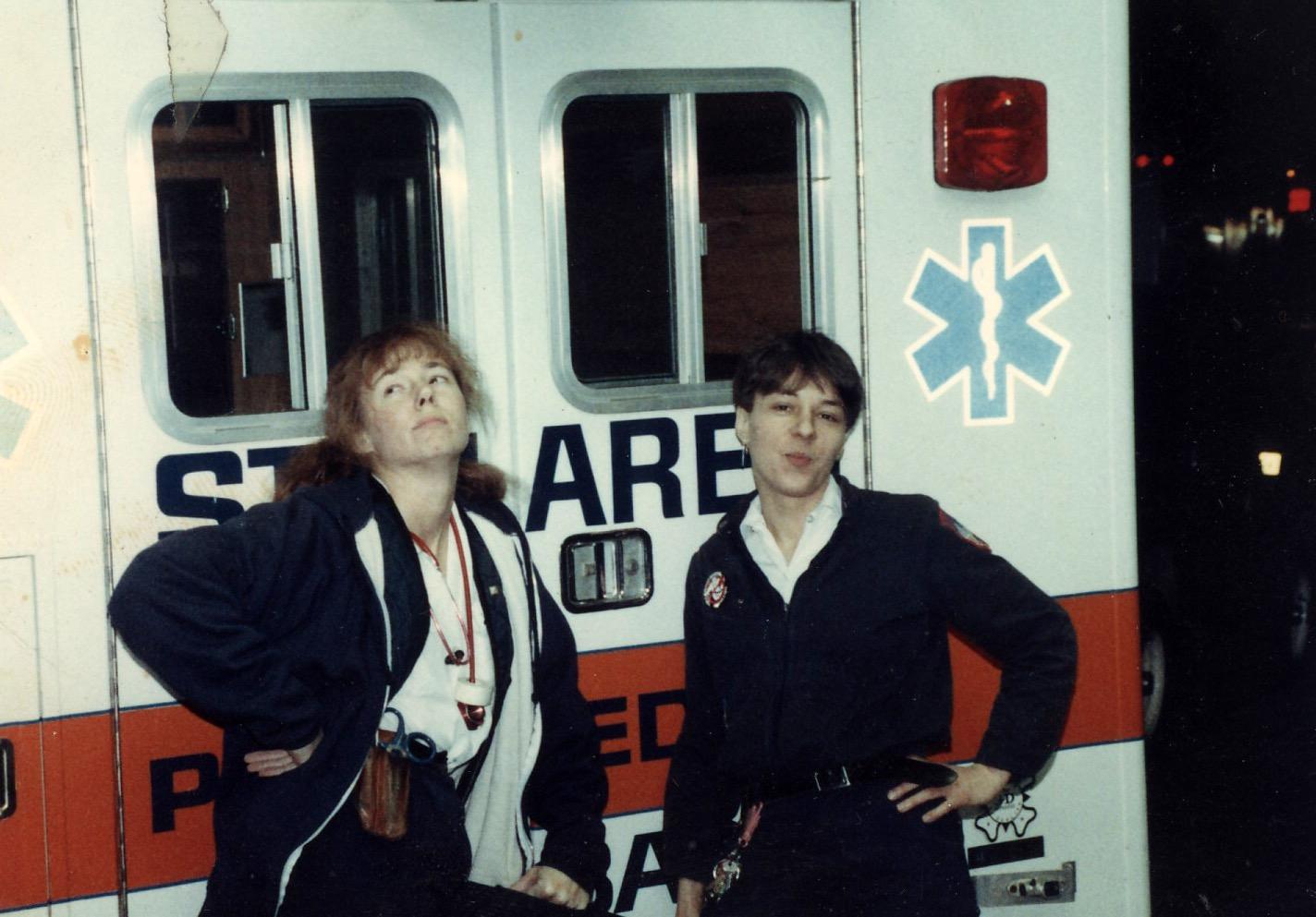 Ladies on evenings, mid-1980s