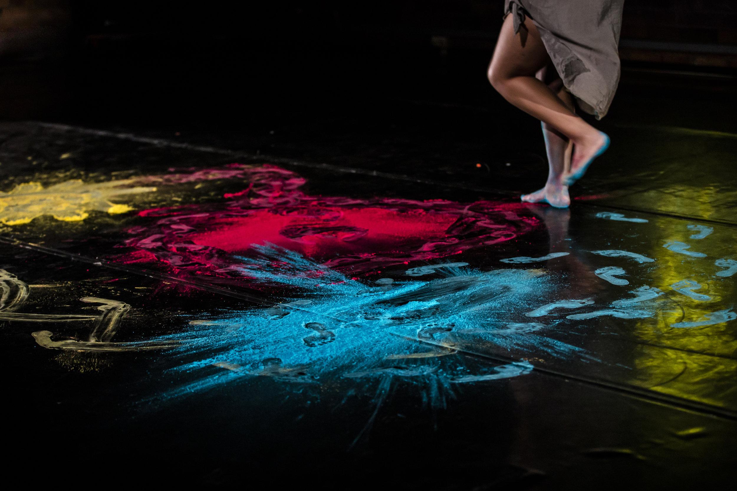 Footwork/Technique - Mariaa Randall