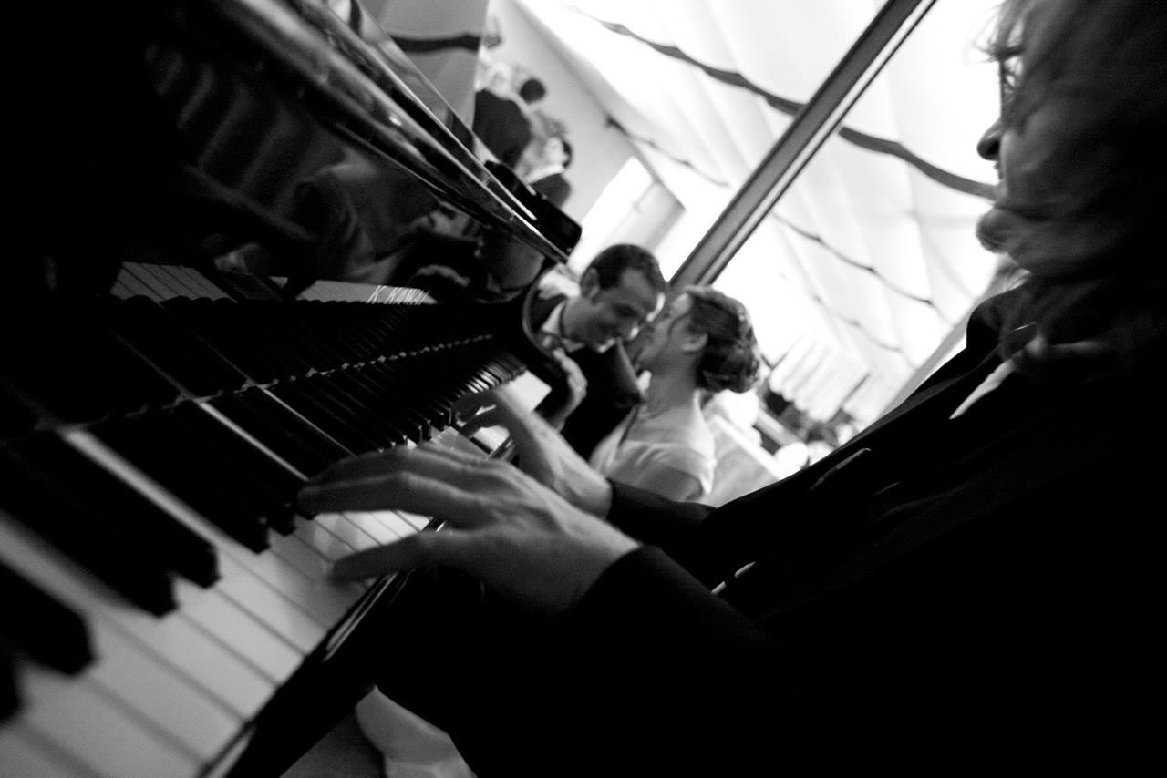 intrattenimento matrimonio pianista
