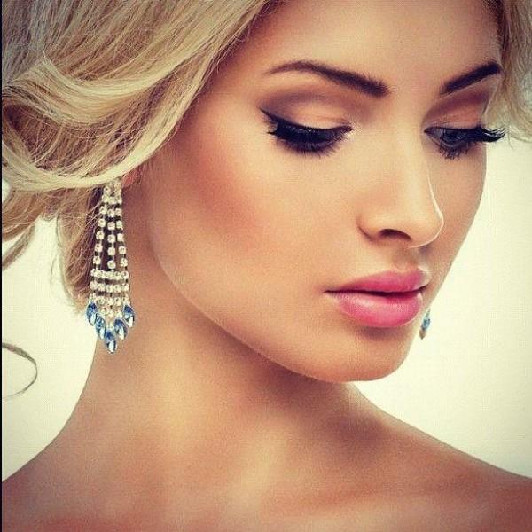 make-up sposa pastello