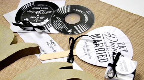 partecipazioni matrimonio tema rock