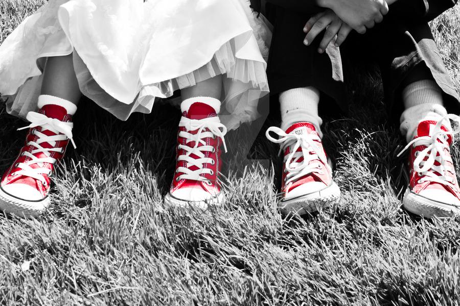matrimonio scarpe converse