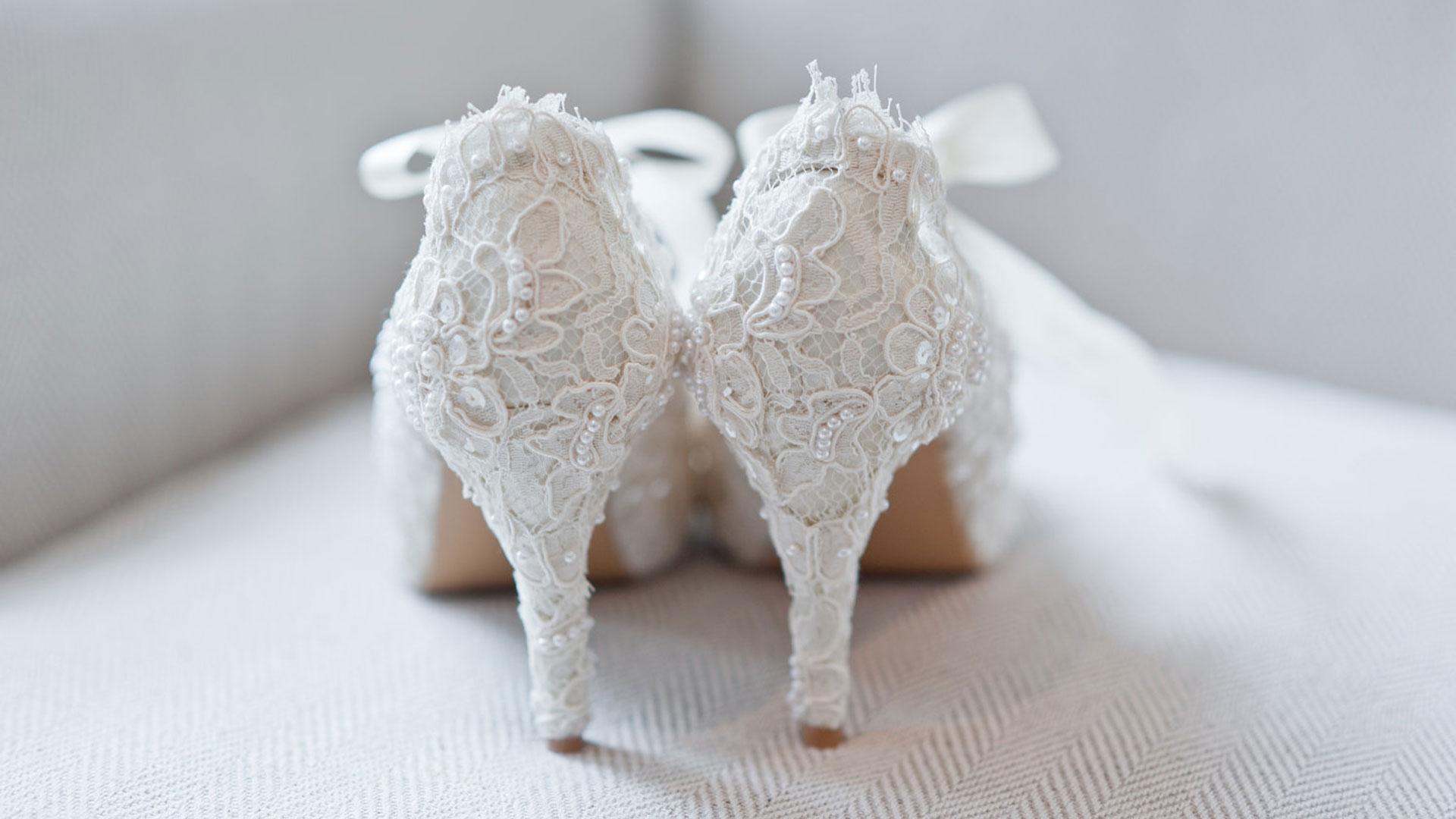 scarpe sposa in pizzo matrimonio cuneo