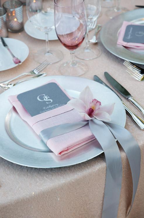 allestimento rosa quarzo matrimonio cuneo piemonte