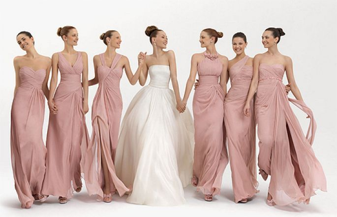 damigelle sposa rosa quarzo matrimonio cuneo piemonte
