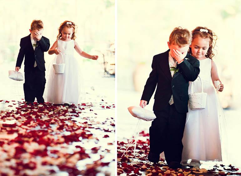 paggetti ring bearer flower girl matrimonio tendenze