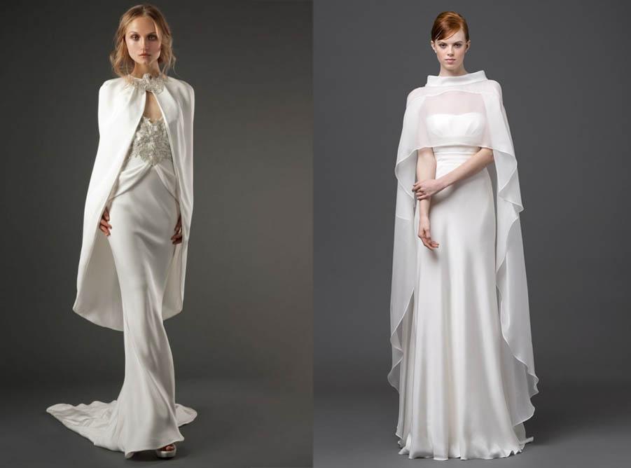 capospalla giacca sposa tendenza spalle coperte