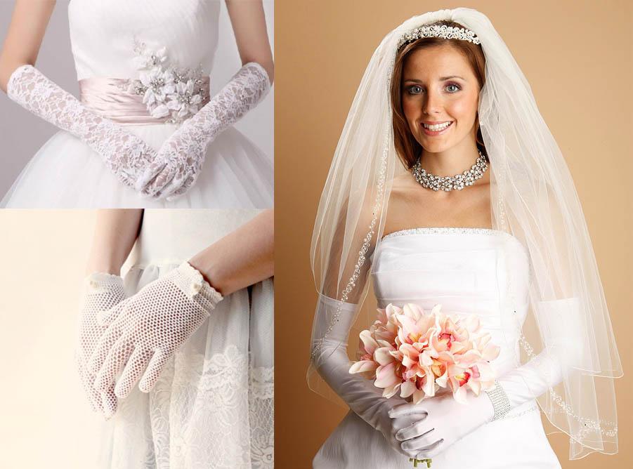 guanti sposa invernale