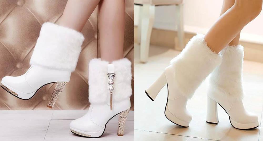 inverno sposa scarpe stivali
