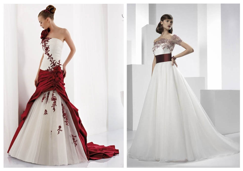 vestito sposa bordeaux marsala vino langhe roero matrimonio moda