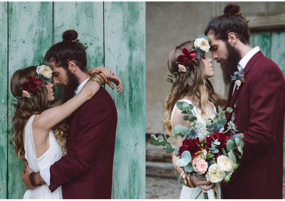 sposi tema vino colore matrimonio 2016 2017