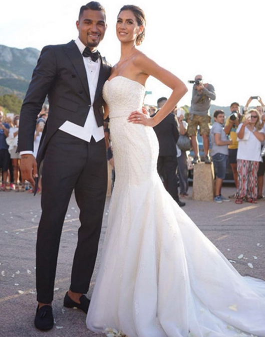Scarpe Sposa Vip.Matrimonio Vip Melissa Satta E Kevin Boateng Wedding Langhe E Roero