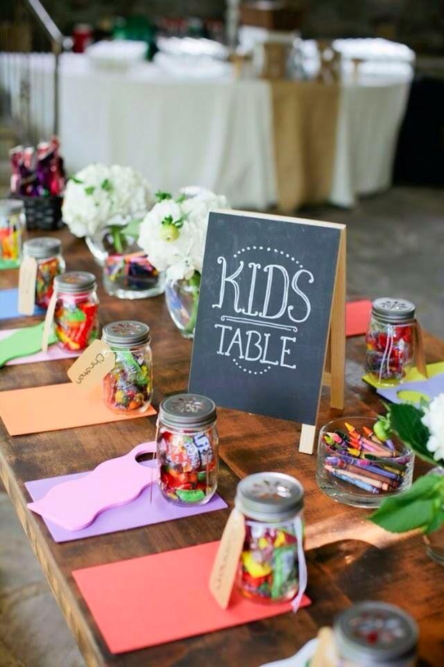 tavolo bambini matrimonio idee originali nozze sposarsi cerimonia intrattenimento ricevimento nozze wedding idea