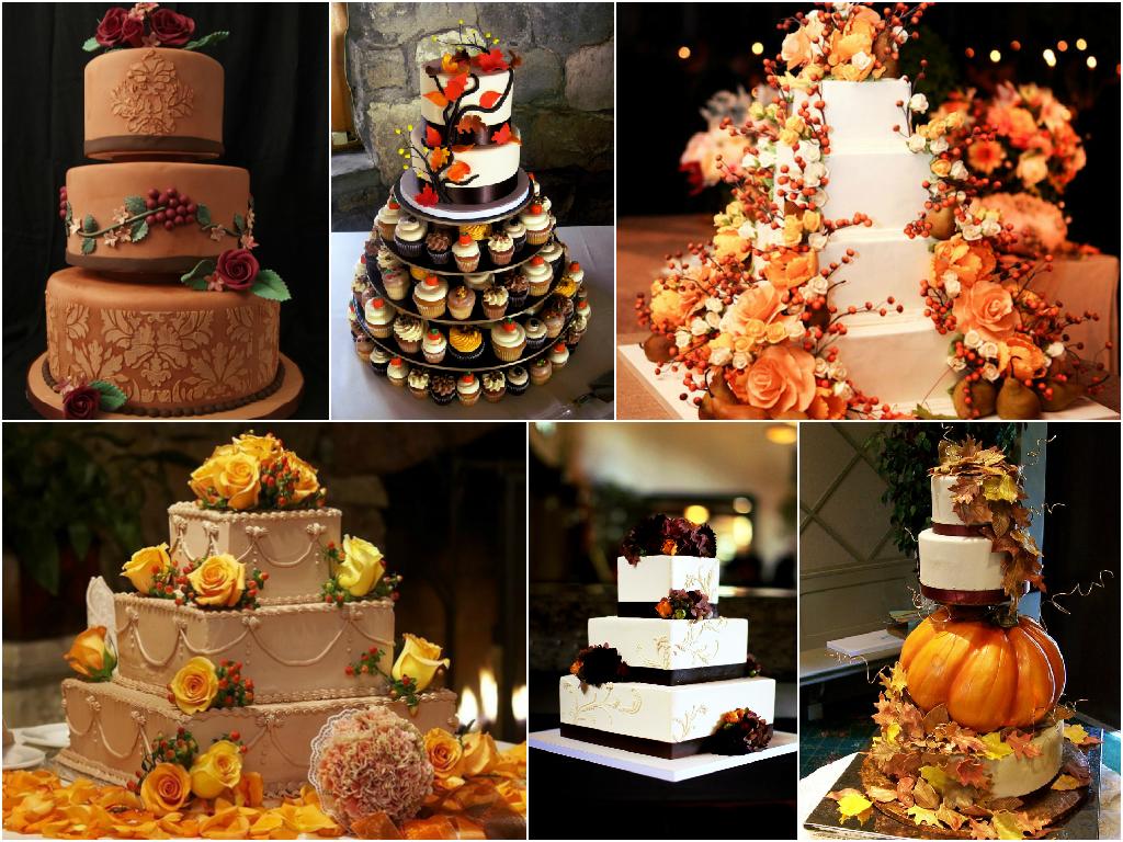 torta nuziale matrimonio in autunno