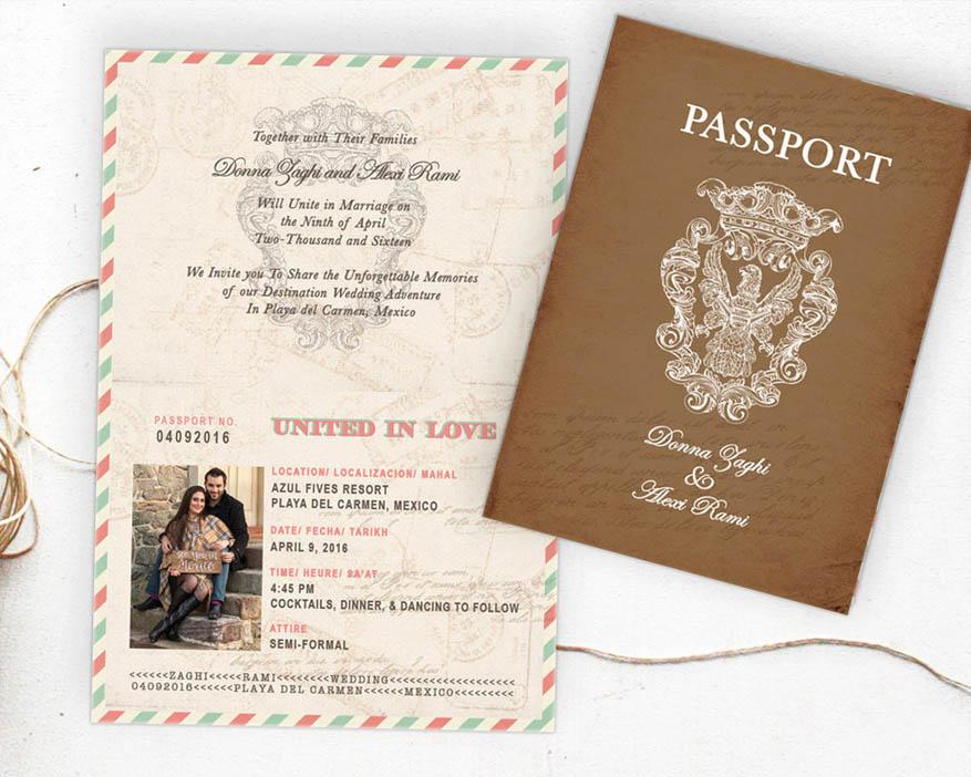 partecipazione matrimonio tema viaggio wedding langhe roero