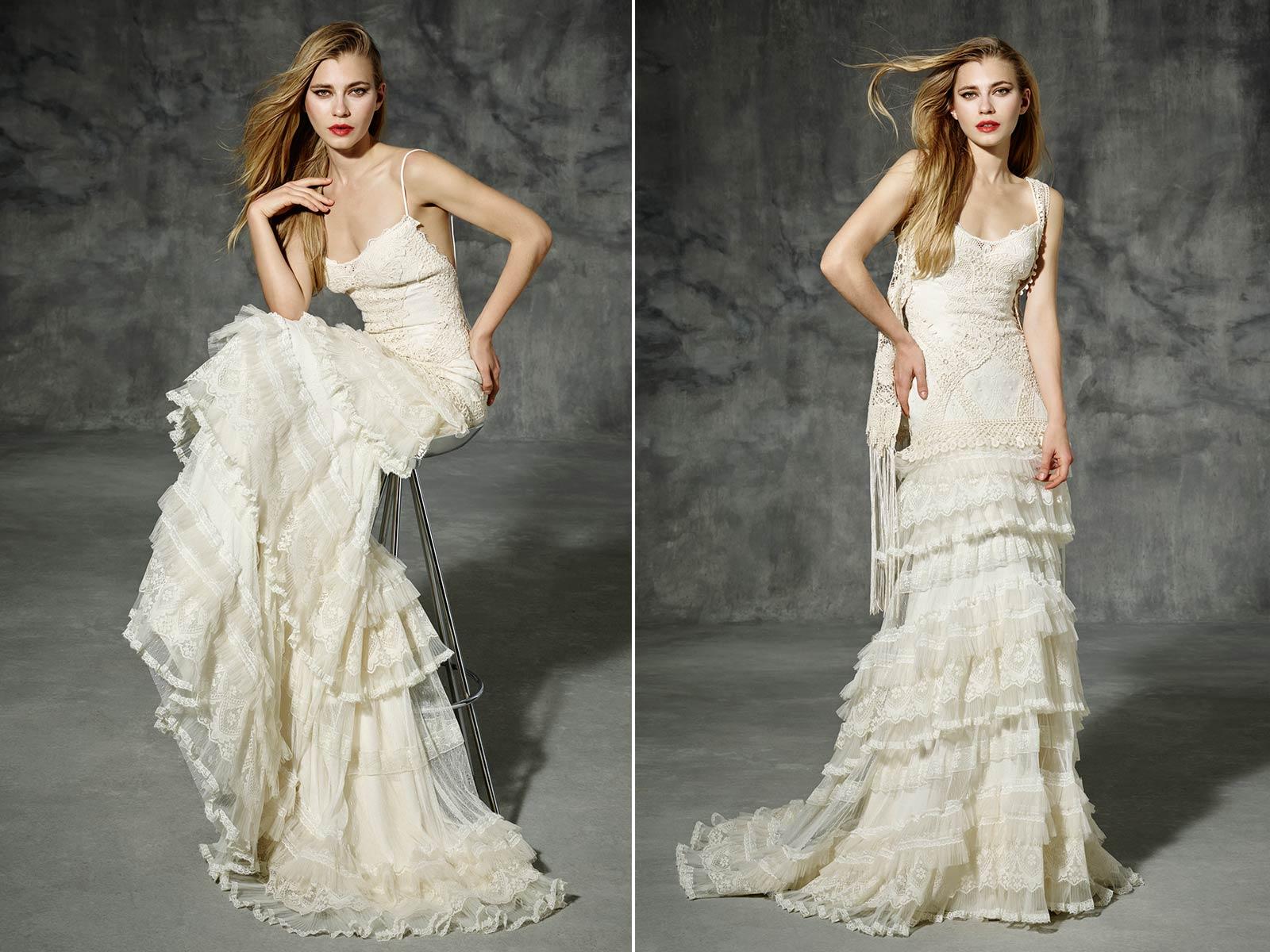 abito-da-sposa-shabby-chic tendenze nozze 2017 matrimonio trends vestito scarpe accessori sposa langhe e roero piemonte
