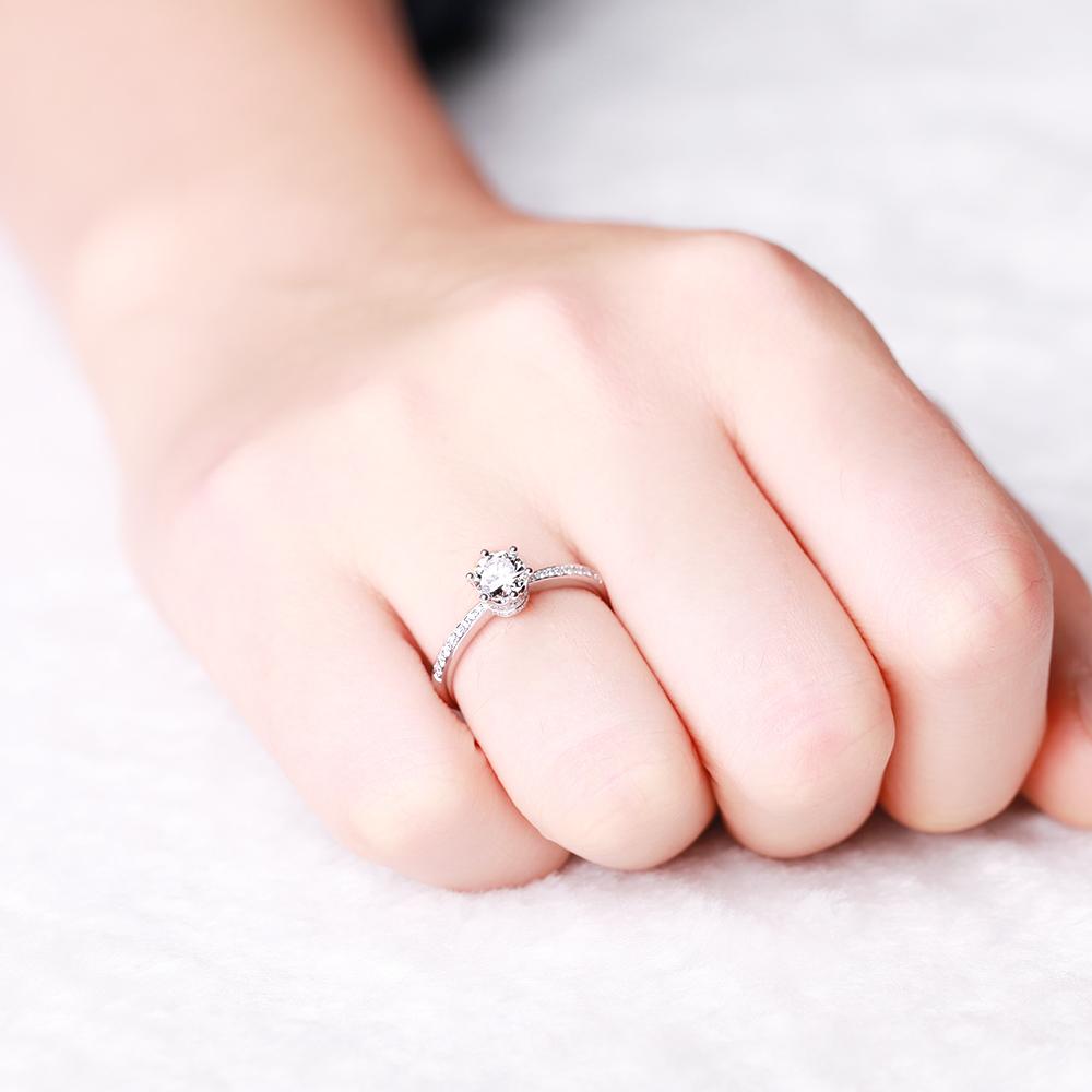 fede nuziale diamante anello di fidanzamento