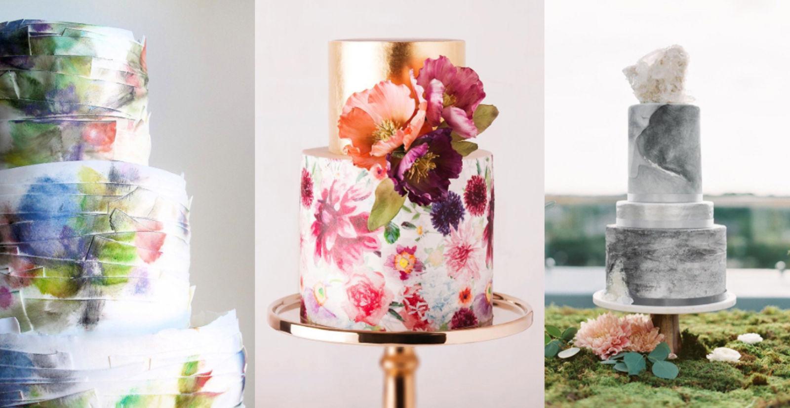 watercolor wedding cake torta nuziale matrimonio 2018 tendenze nozze sposi wedding trends.jpg