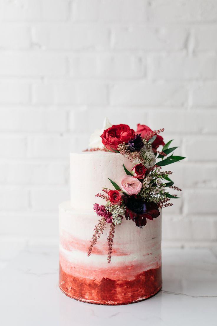 watercolor wedding cake torta nuziale 2018 tendenze nozze 2018 matrimonio langhe e roero red style.jpg