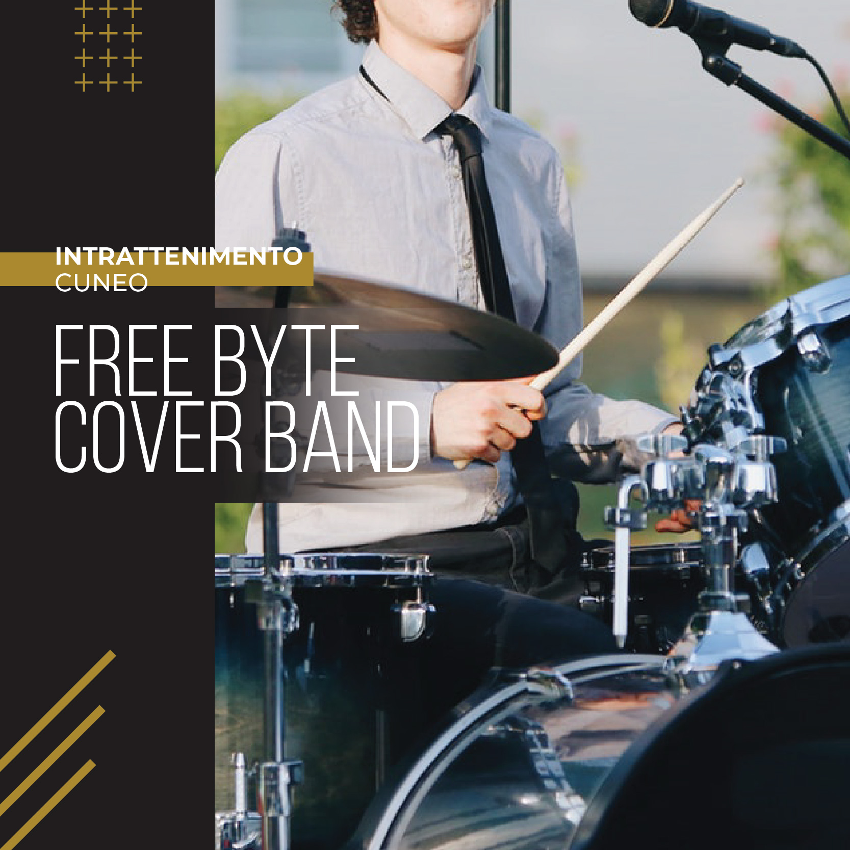 FREE BYTE - COVER BAND