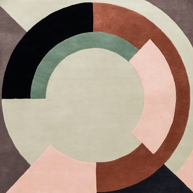 Detail from Plateau rug - final design from our new collection with @designerrugs