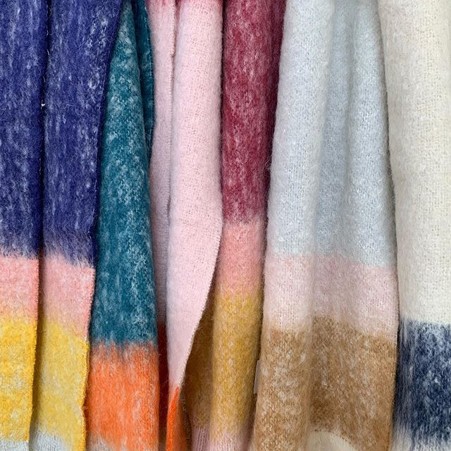 Our Scarfs are 25% off from @waverleymills - as are all our throws and blankets.