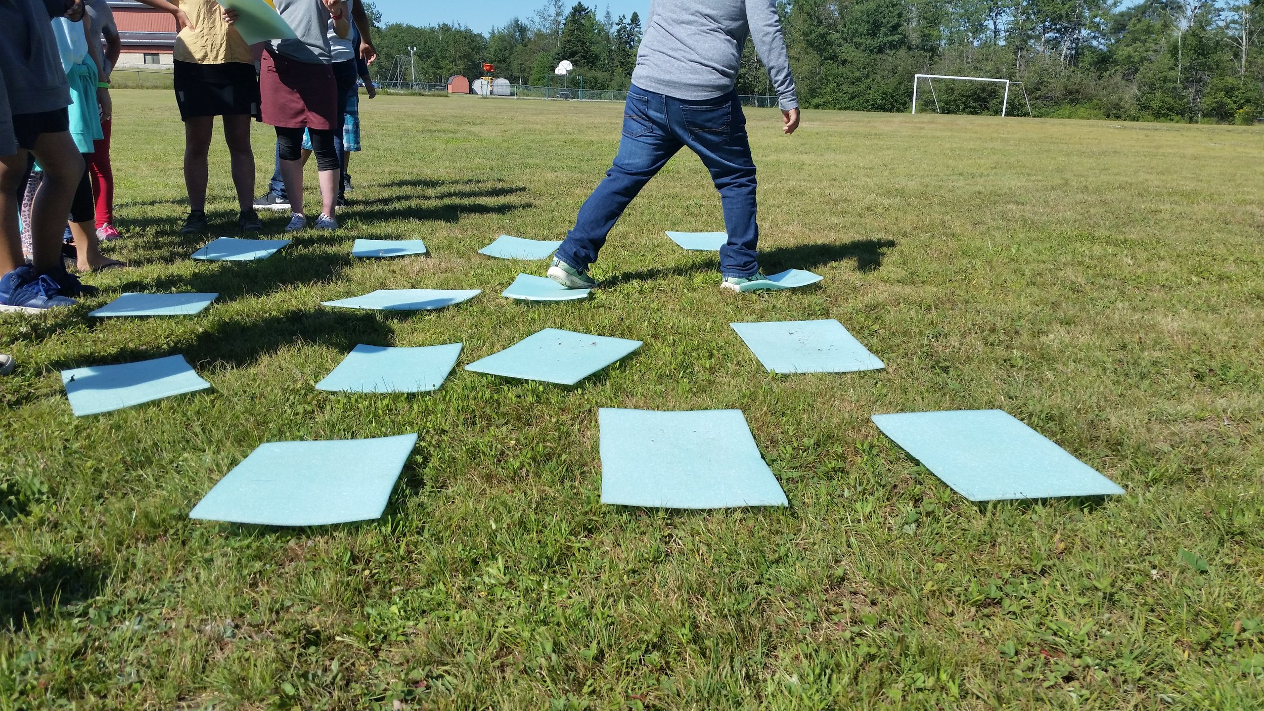 A teambuilding game that also mimicked the migration of monarch butterflies from Mexico to Maine