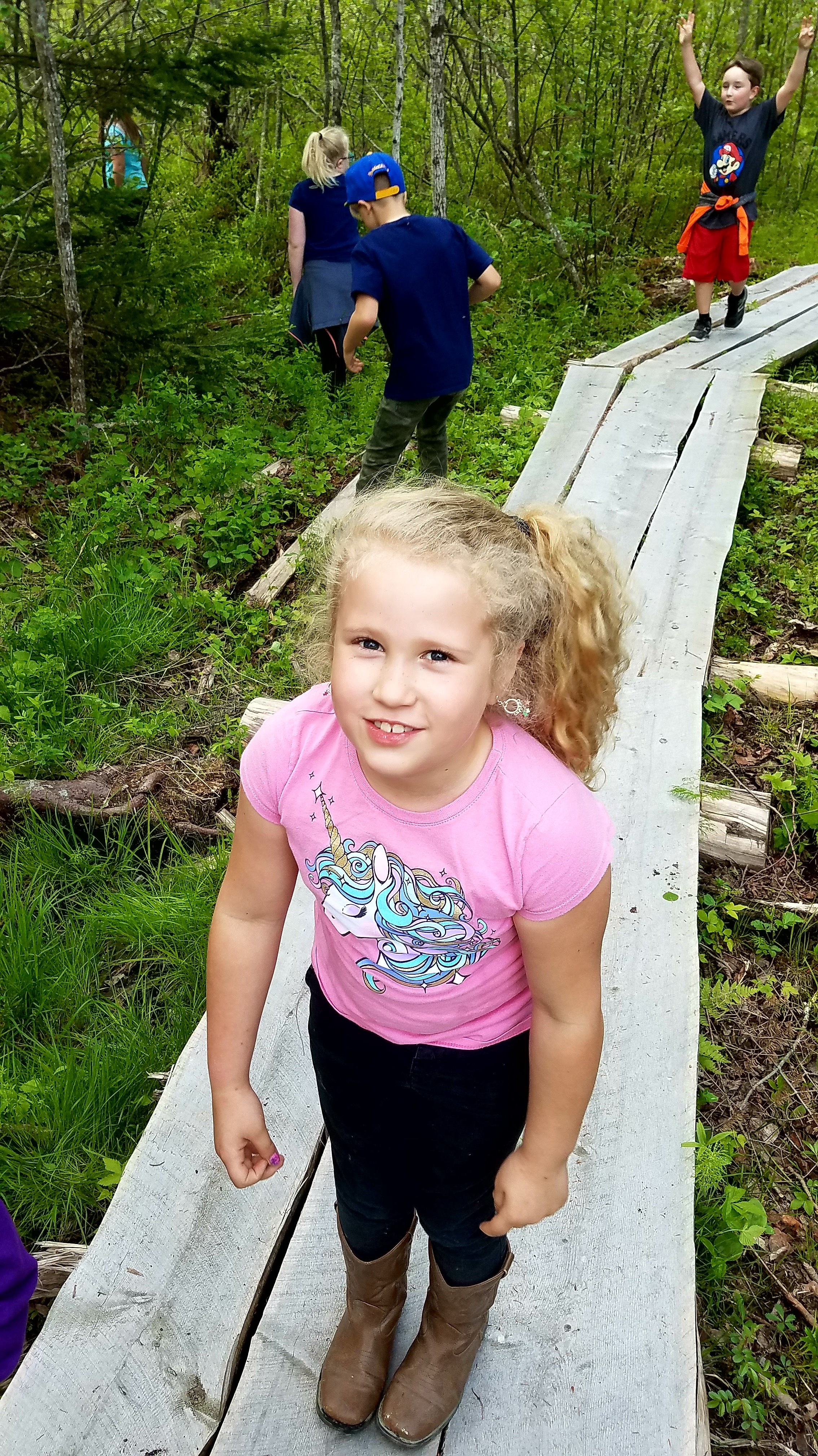 "Harrington Elementary School Harrington, Maine    ""It's so great to see a program that is bringing children back into their natural habitats, getting their hands dirty, exploring and being kids again!""     -Elementary Teacher, Harrington Elementary, 2017  (Read more  here )"