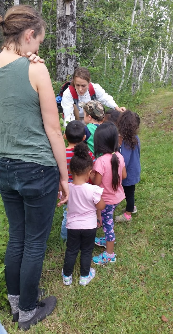 "Mano en Mano Milbridge, Maine    ""Students in my class loved Outdoor Explorations. It was a positive experience for them in terms of social interaction, learning new things and being physically active.""    -Teacher, Mano en Mano's Blueberry Harvest School, 2017  (Read more  here )"