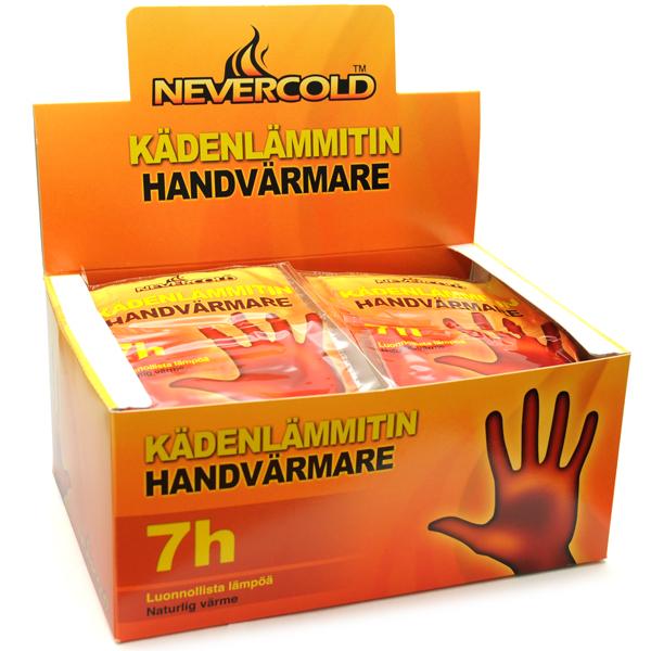 Laadukkaat lämmittimet ei tunnu hanskoissa inhottavalta.