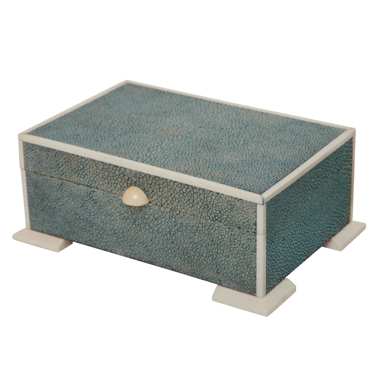 Art Deco Shagreen & Ivory Box $2,150 from 1stdibs