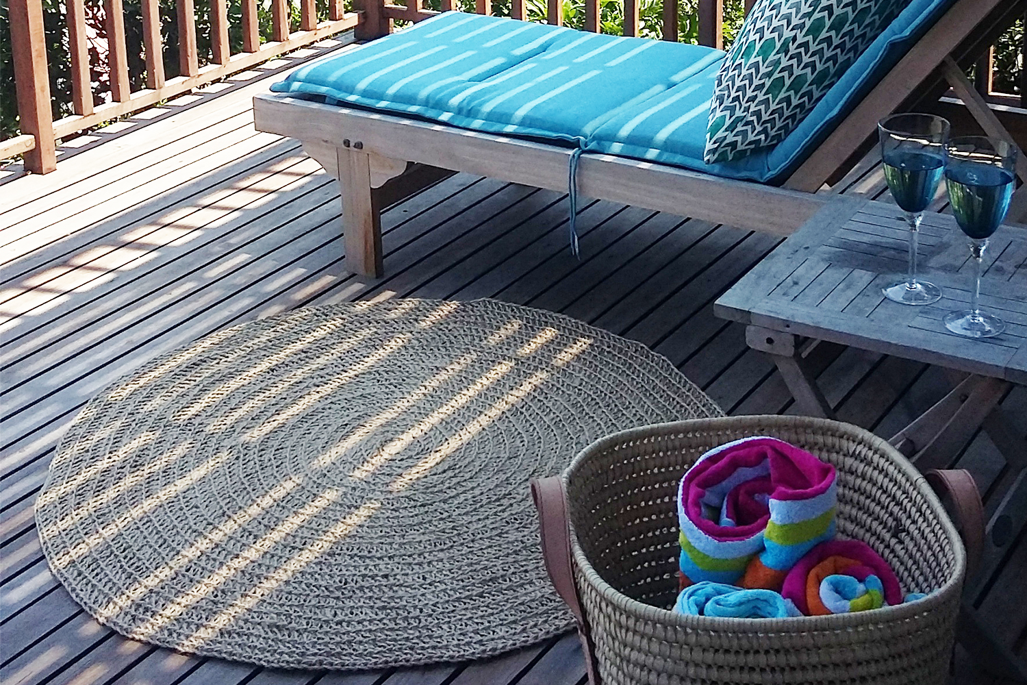 ROUND ECO MATS   Can be made to size of order specified Mat in picture is 120cm diameter