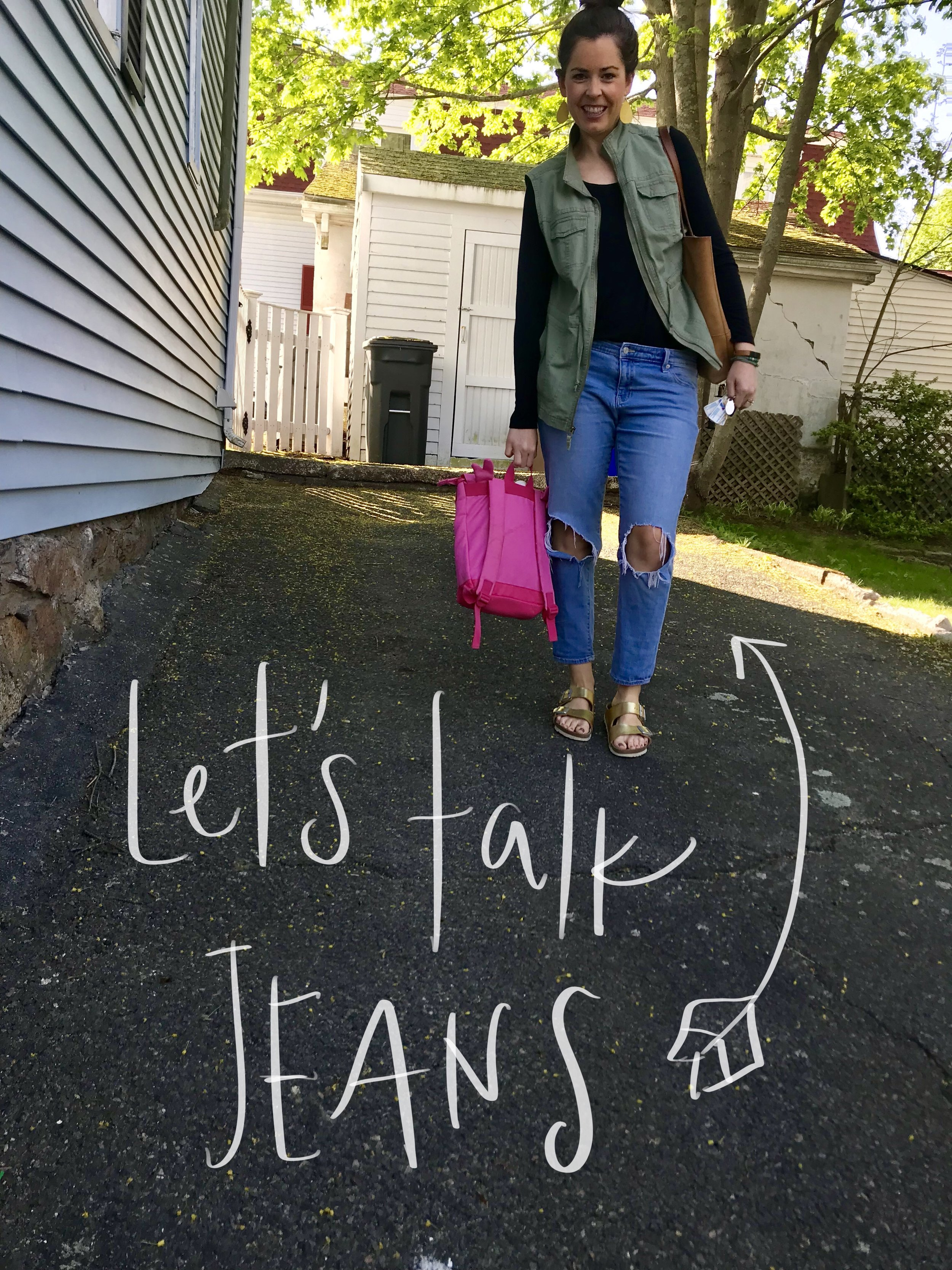 let's talk about jeans