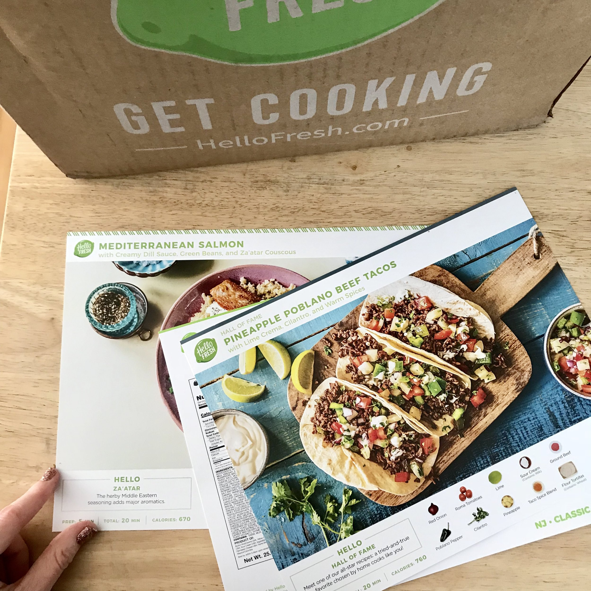 hello fresh first delivery