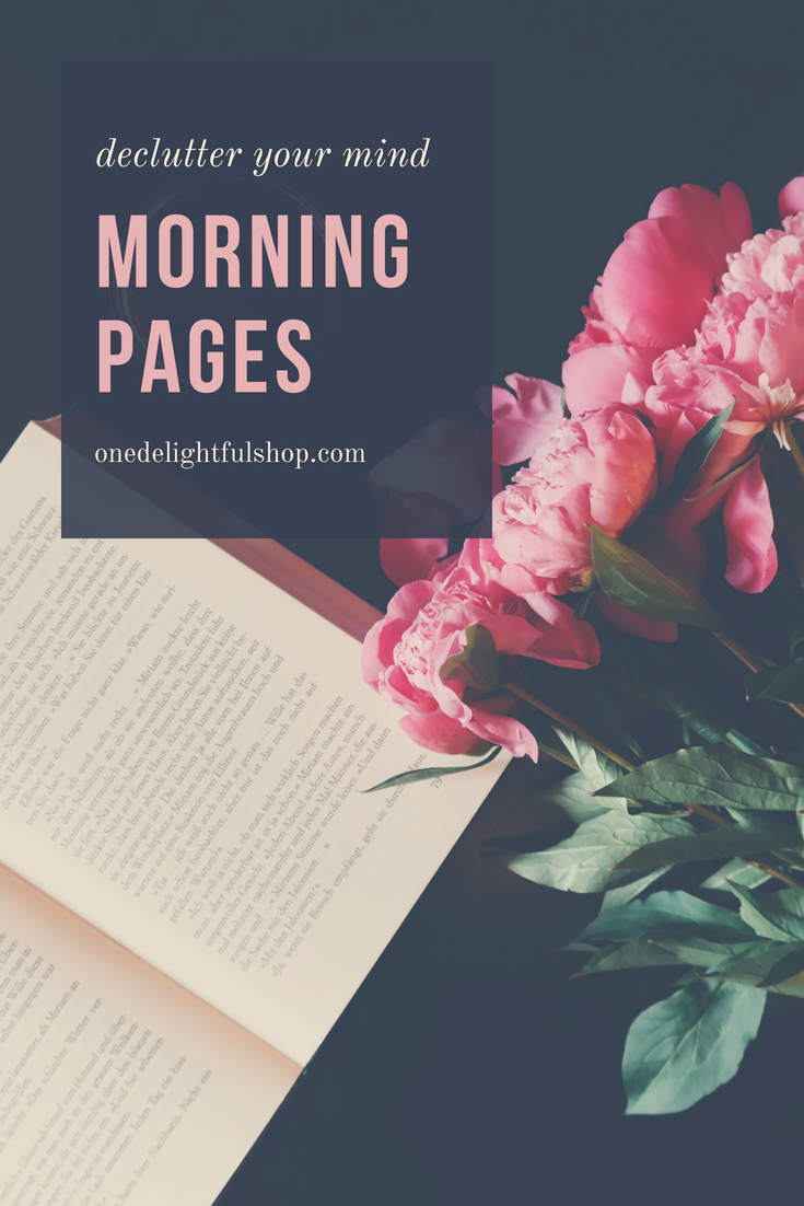 how to do morning pages