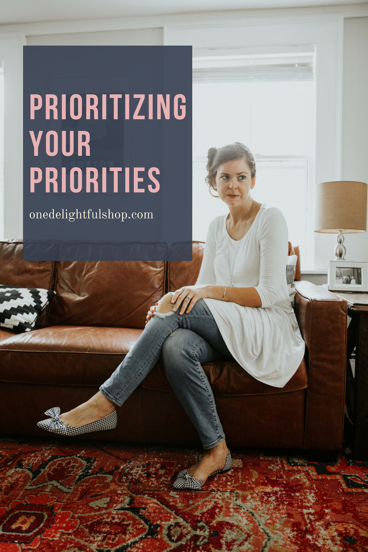 Do you prioritize your priorities? // One Delightful Podcast