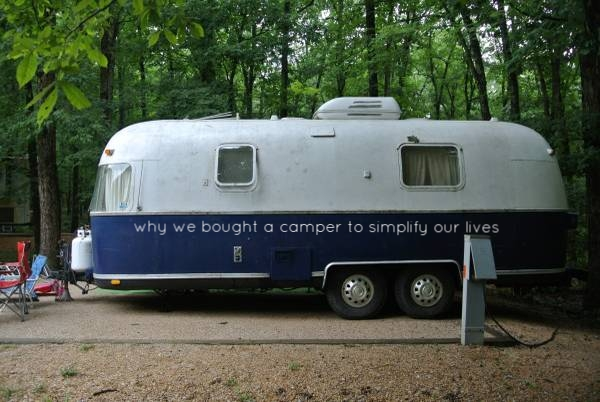 In case you were wondering ... here she is ... the 1975 Airstream Argosy we are going to renovate.