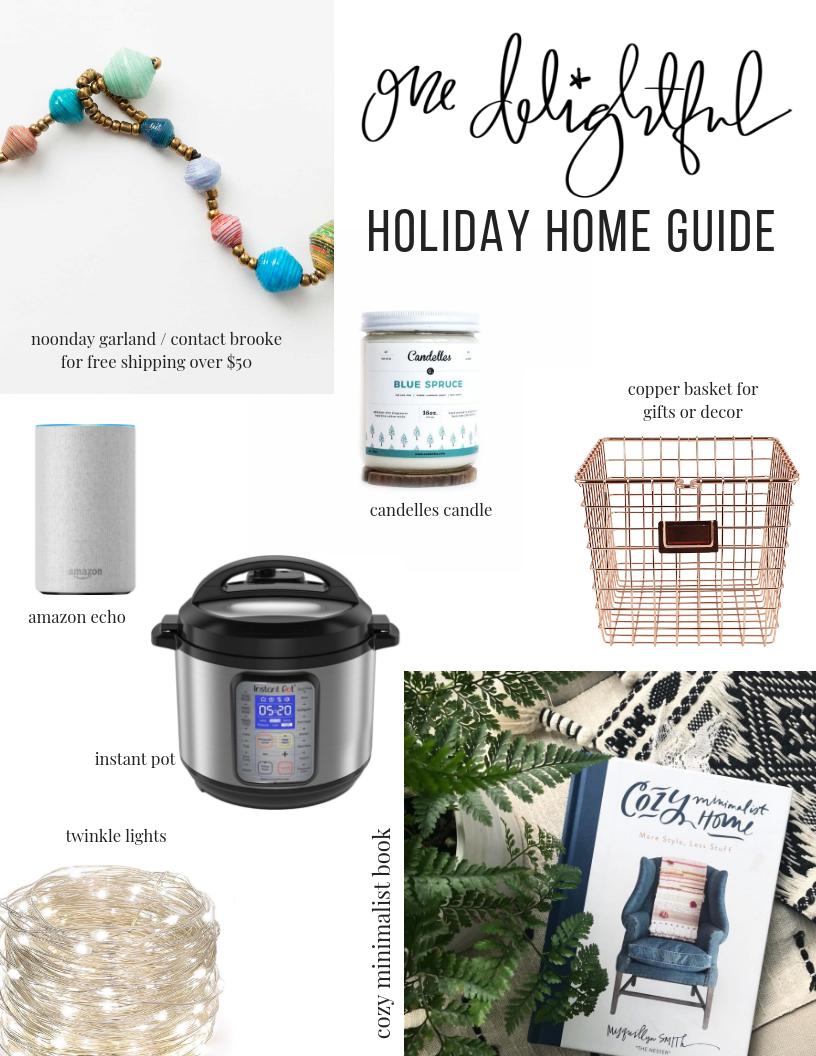 gift guide / onedelightfulshop.com