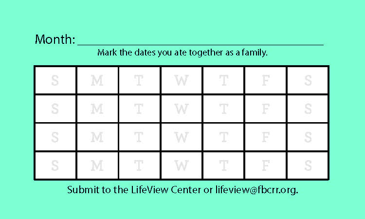 Mark the Date! - Print out your copy of the Mark the Date card here.