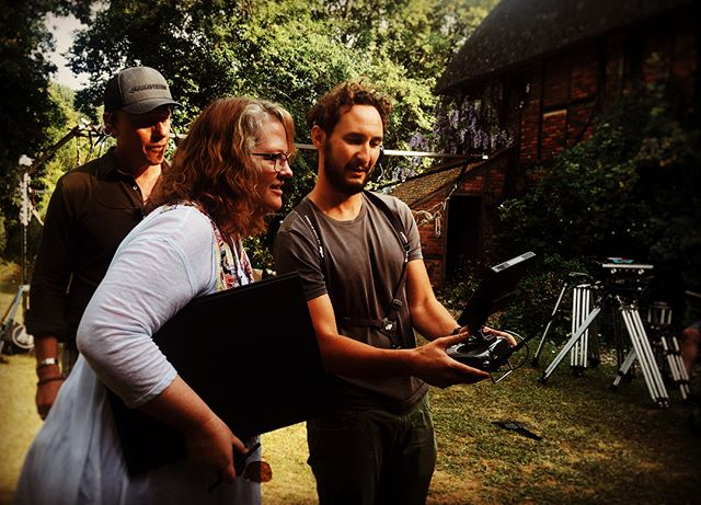 Beautiful location yesterday and amazing to be working with #brendachapman the creator, writer and director of #Brave on her live action directorial debut #ComeAway #featurefilm . Great crew and camera team - thanks for having me! . . . #dji #aerialphotography #djipilot #filmlife #🎥 #yesterday #drone #summerdays