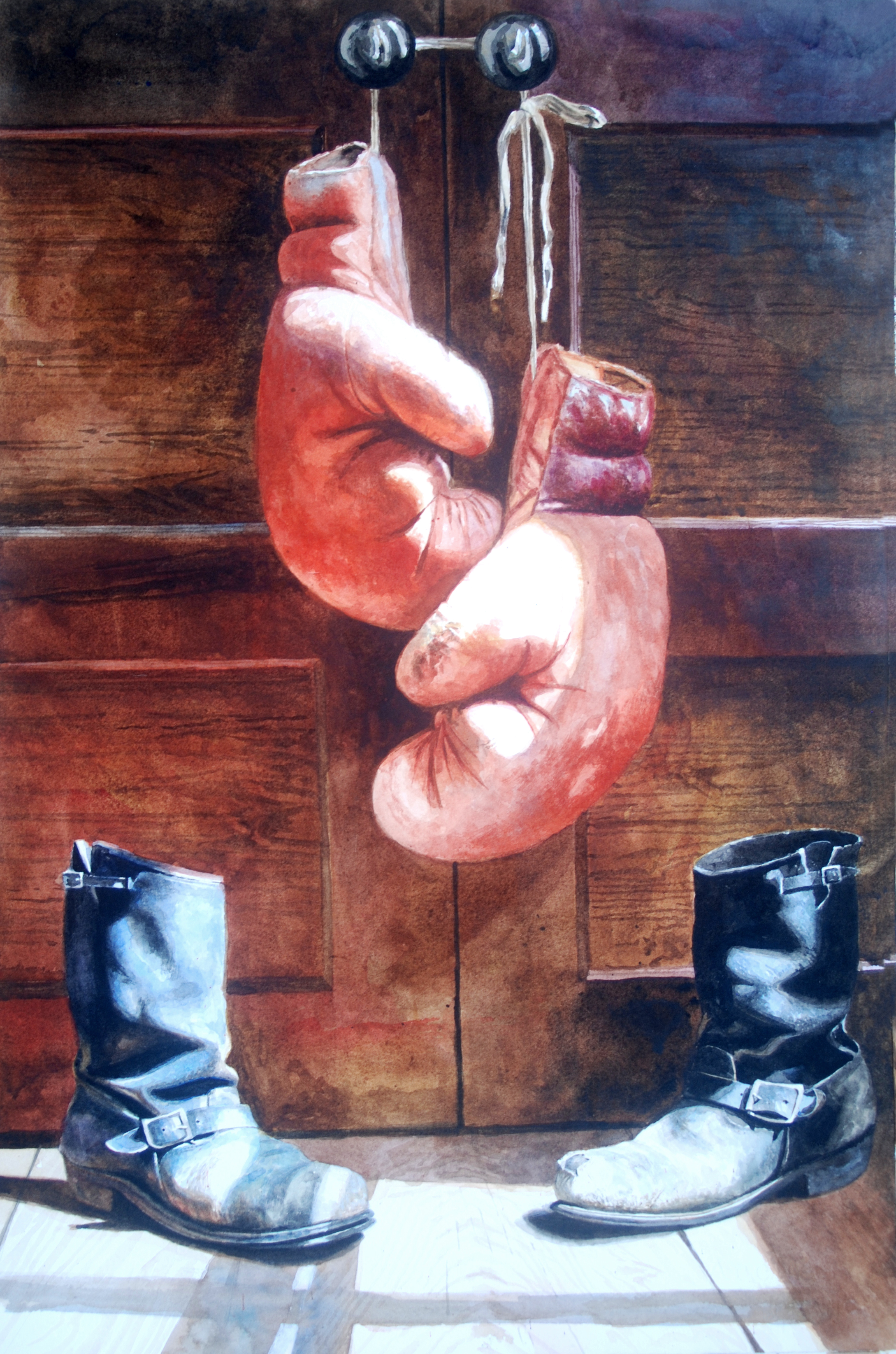 Boots & Boxing Gloves