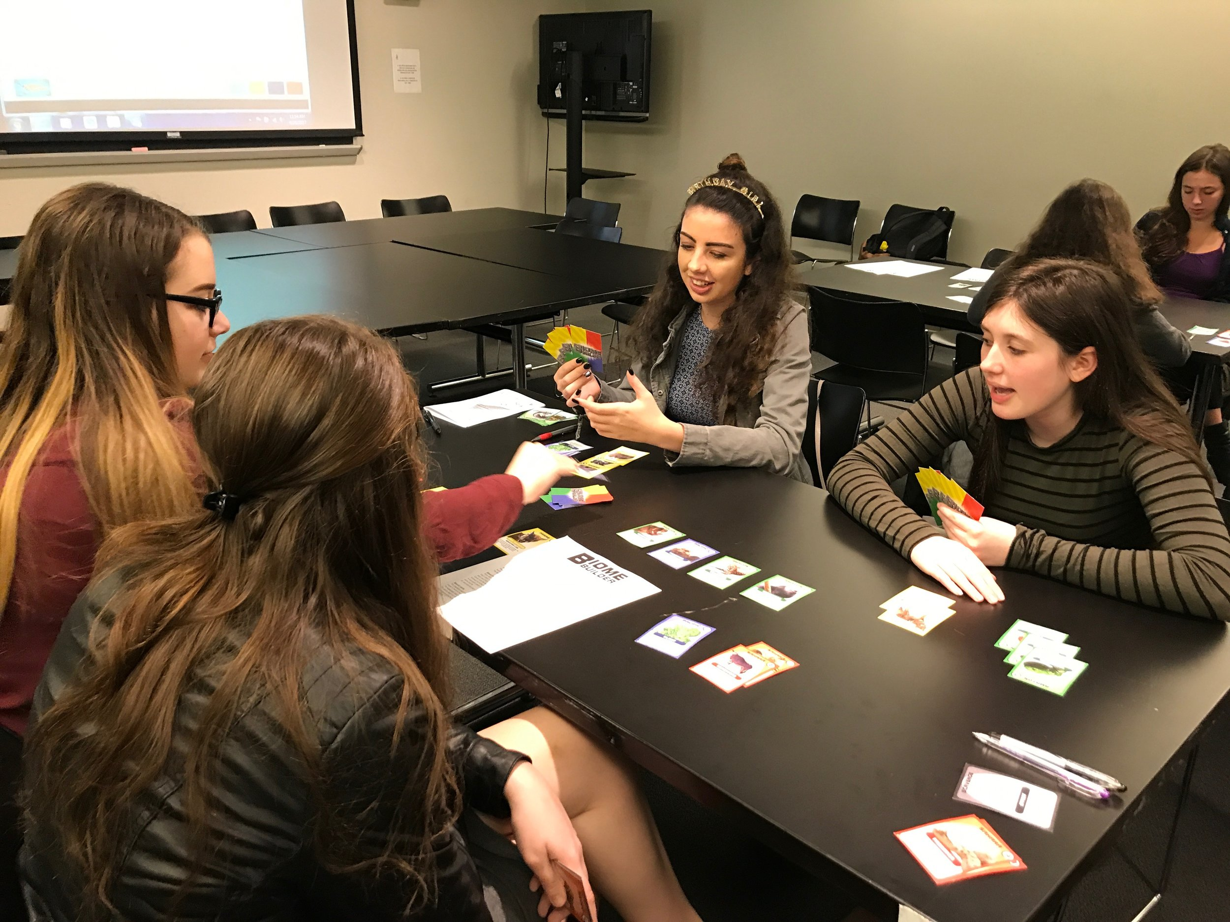 Playtesting at the 2017 STEMinism Conference